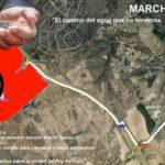Organizan una marcha senderista para denunciar «los excesos» de agua del proyecto de Puy du Fou en Toledo